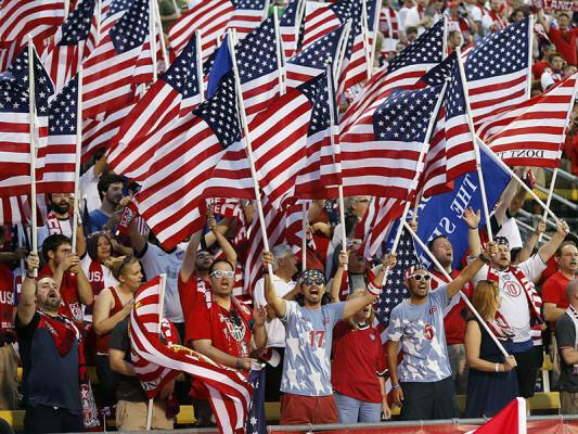 Usa Soccer Fans World Cup Achona : USA qualifies...