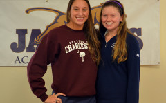 Senior athletes commit to the universities of their dreams