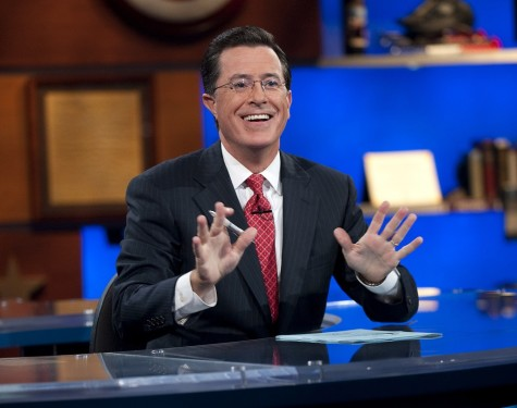 Colbert takes over Late Night