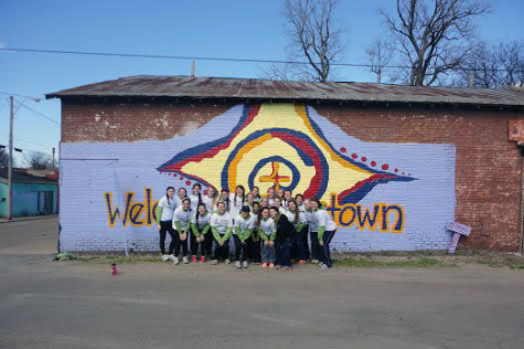 AHN missionaries help make Jonestown shine