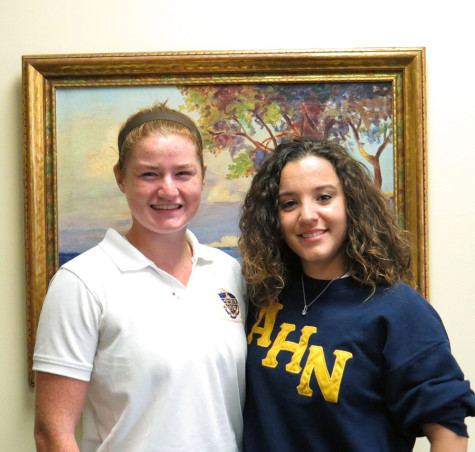 Two AHN juniors selected to attend prestigious Naval Academy Summer Seminar