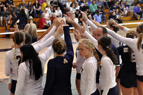 Varsity Volleyball: The pressure is on