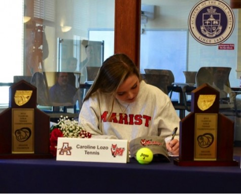 Caroline Lozo Commits to Play Tennis for Marist College