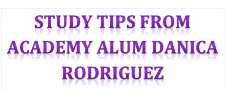 Study Tips from Academy Alum Danica Rodriguez