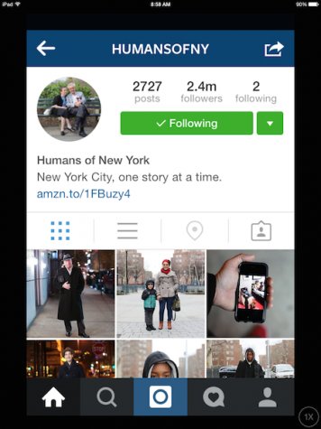 What is Humans of New York?