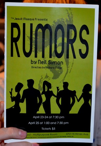 Jesuit Masque presents: Rumors