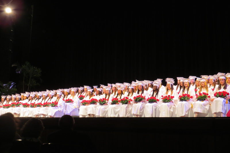 Class of 2015's Graduation at the Straz