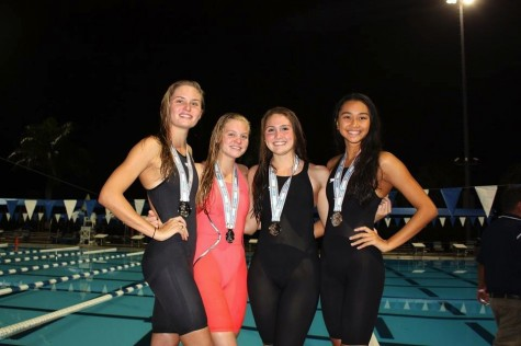 States Go Swimmingly for the AHN Girls