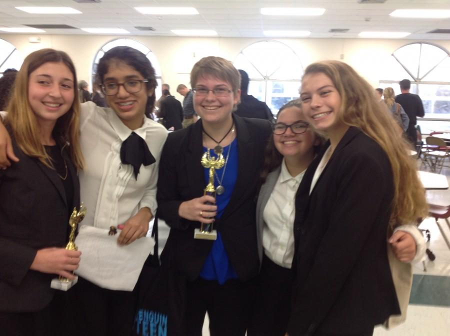 AHN Speech and Debate Team Excel at Catholic Forensic League Competition
