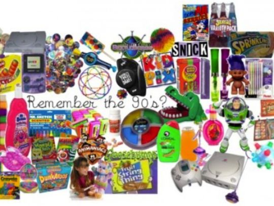 Popular Toys From The 90s : Achona the best and most forgotten childhood items
