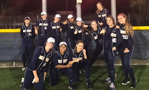 AHN Softball Defeats Rival Tampa Catholic