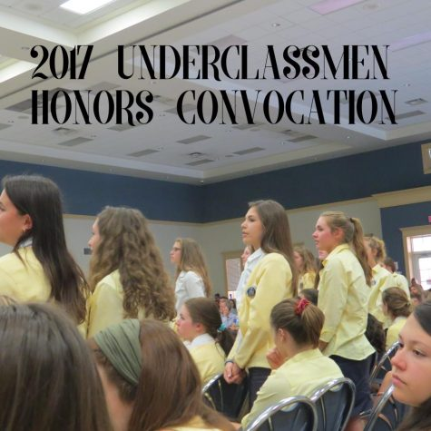 Underclassmen Honors Convocation