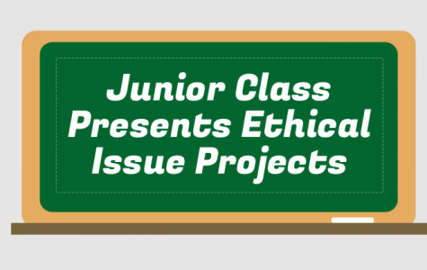 Junior Class Presents Ethical Issue Projects