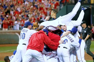 Rangers make the World Series, make history in the process