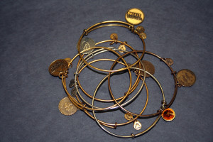 Alex and Ani bracelets come in a large variety.