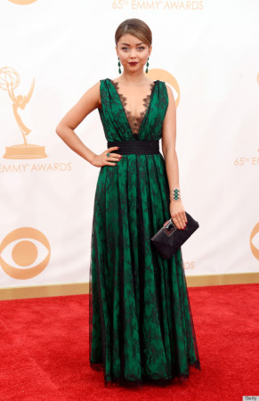 Sarah Hyland had a different style dress that impressed us all