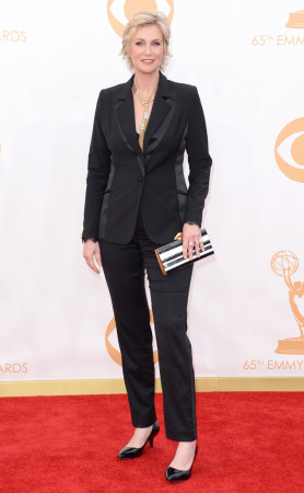 Jane Lynch had a different approach to her Emmys outfit, but still looked amazing