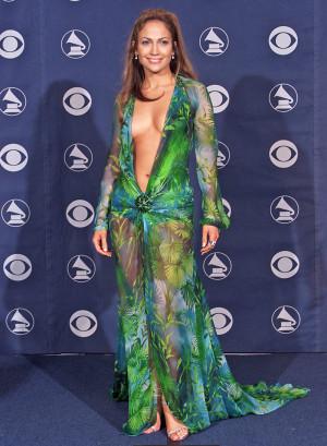 Jennifer Lopez's unforgettable 2000 Grammys dress