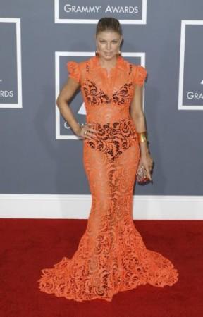 Fergies shocking 2011 Grammys dress