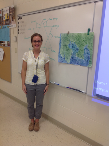 Ms. Franklin shows us her favorite part of her room, her board! So she can teach