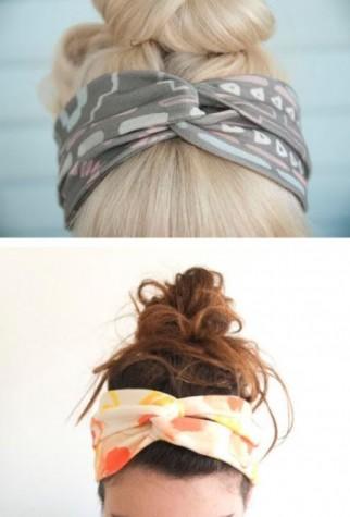 Fall Cloth -Twisted Head Wrap