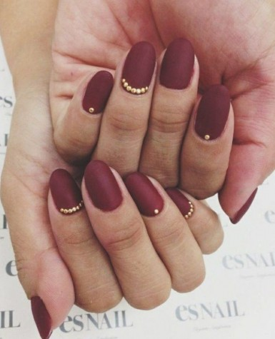 Red Matte Nails