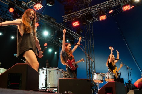 Based on my personally interest in alternative music, I believe the sister composed band Haim will take the award for Best New Artist. The three just recently learned they will be touring on the 1989 World Tour.
