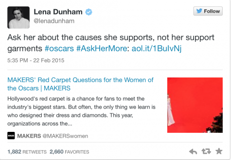 Lena Dunham expresses her stance on the new and revolutionary campaign!