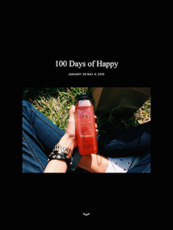 Audrey Anello shared the progress of her 100 Happy Days challenge. Rather than using sites such as Tumblr or Instagram, Anello used the photo site vsco.