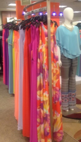 Dillard's has simple dresses in different colors.