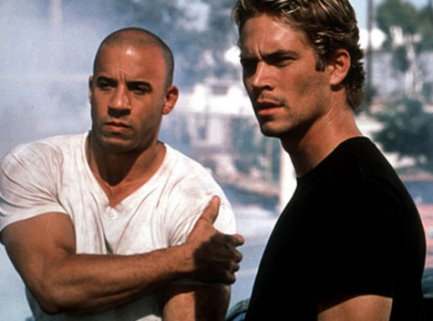 Paul and Vin during Fast and Furious Credits to Bob Marshak/Universal Studios