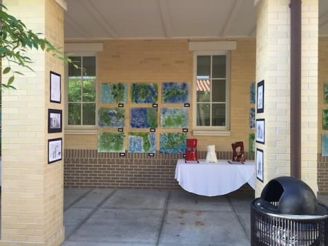 Landscapes drawn by Ms. Franklin's Art 2D classes.