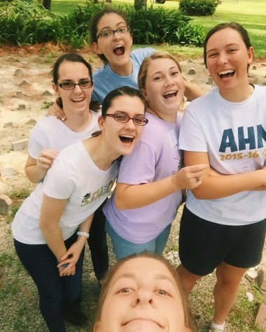 """""""The retreat was a great experience. I received some great advice, participated in fun activities and I learned a lot about my sisters, even some new things. I feel that I have grown spiritually and that our bond as a class has grown stronger after the retreat"""" - Stefannie Tanase"""