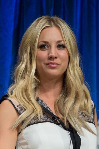 On Cuoco-Sweeting's time off-screen, she is an avid horse rider and tennis player. Credit: Wikipedia/Flickr/Tabercil