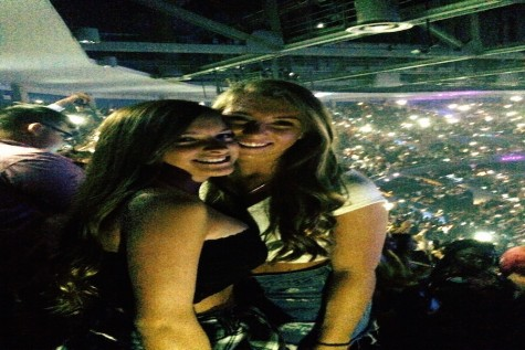 """The Bangerz tour was so much fun! I went with my friend Tawny Martin, and we danced and sang all night!"" Skyler Sinardi 12"