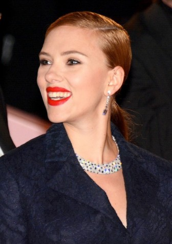 Johansson acts on Broadway and pursues her singing career in her time not filming her upcoming movies. Credit: Georges Biard/Wikipedia