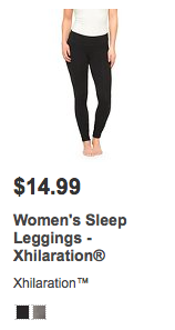 Leggings from Target only cost 14.99 and are just as good!