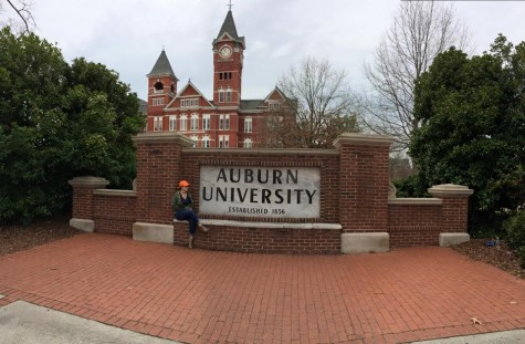 """I know I wanted an SEC school, so I was immediately attracted to Auburn; everything about Auburn I love. Also, I like the idea of going to the rival school of my brother's school."" Gabi Vivero"