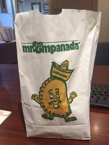 Lori Kearney's infectious love for Mr. Empanada's is contagious for students and as a result many were inclined to visit. Credit: Pia Roca