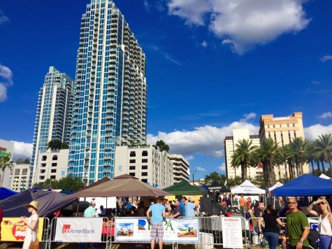 Beautiful downtown Tampa where the annual Pig Jig took place!