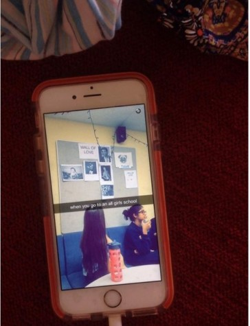 The biggest controversy occurred when freshmen were allowed entrance into the lounge and took pictures inside via Snapchat. Credit: Alejandra Lozano