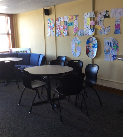 The beginning of the crisis started when the senior lounge was taken away for two days. Photo credit: Grace Baxter