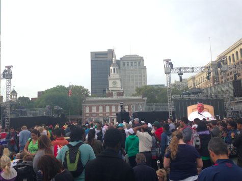 Crowds of millions from all over the word await the Pope