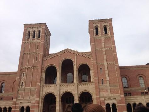 """""""UCLA is such a beautiful school, I wish it wasn't so far or I would consider applying!"""" Senior Adri Torres"""