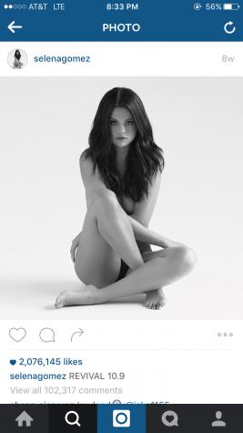 Selena Gomez's cover of her new album Purpose.