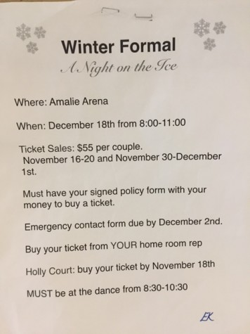 Important things to know about Christmas Formal.