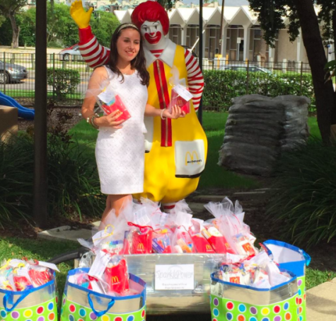 Shannon has also had the opportunity to create packages for the children at the Ronald McDonald house in Tampa. Credit: Caitlin Shannon