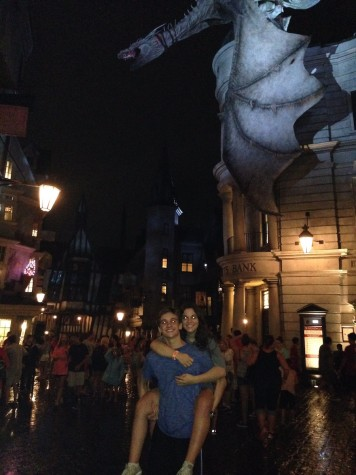 (Photo credit: Jack Garthwaite) Junior Olivia Valdes spends some weekends riding and dining at Universal (and she highly recommends it).