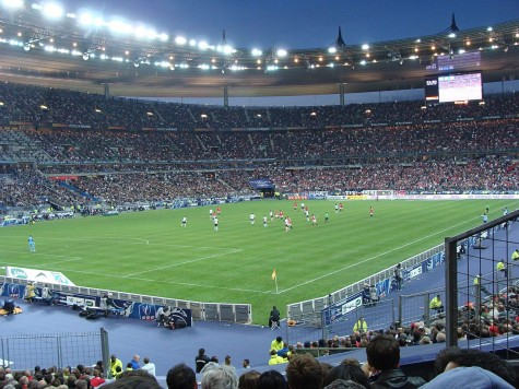 The Wall Street Journal reports that the suicide bomber attempting to enter the France-Germany game at Stade de France was not allowed to enter.