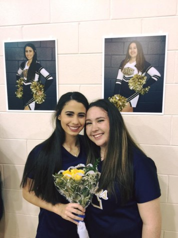 Sanchez and Curry have looked forward to their Senior Night since freshman year and were excited to spend it together